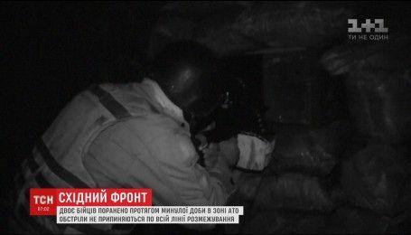 Фронтові зведення: двоє українських бійців отримали поранення на Сході