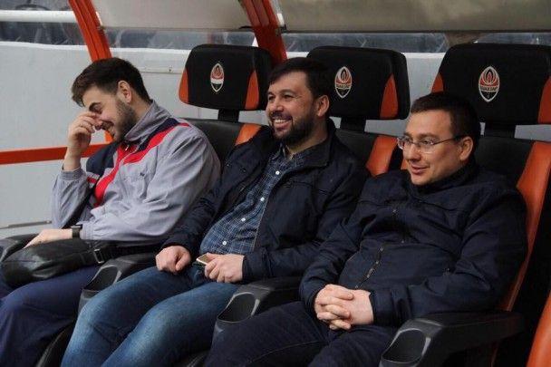 """Like a boss. Бойовик Пушилін по-хазяйськи пройшовся ахметівською """"Донбас Ареною"""""""