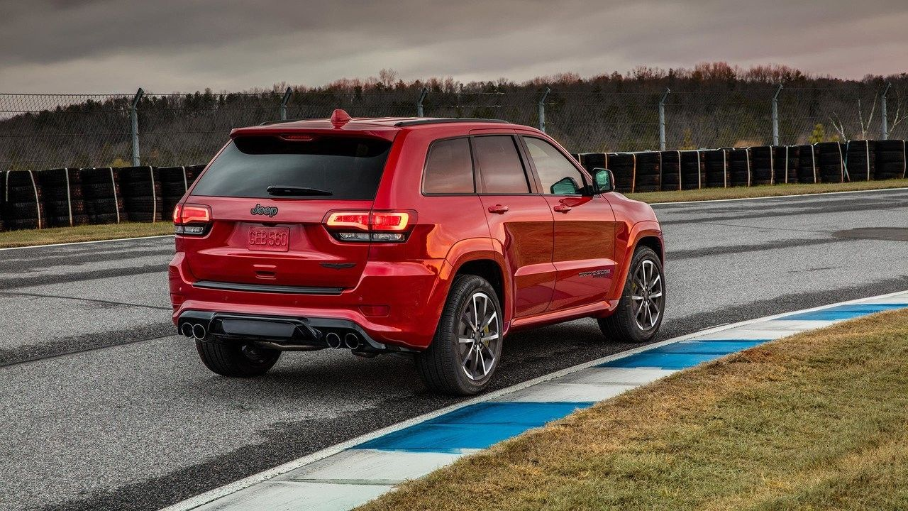 Jeep, Grand, Cherokee Trackhawk