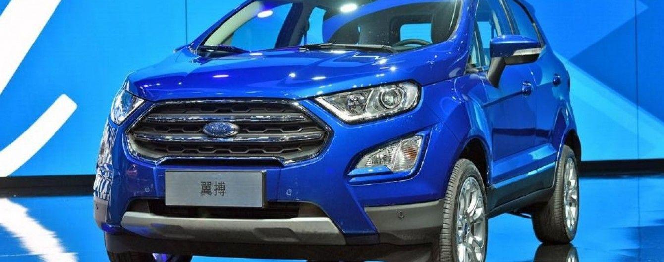 В Китае дебютировал обновленный Ford EcoSport