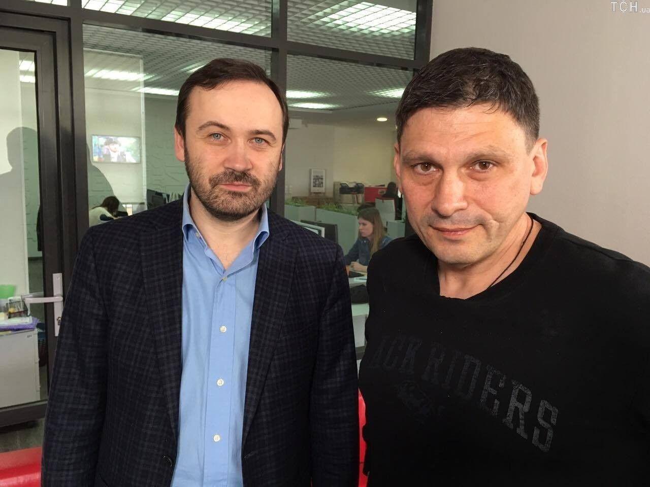 Ілля Пономарьов і Андрій Цаплієнко