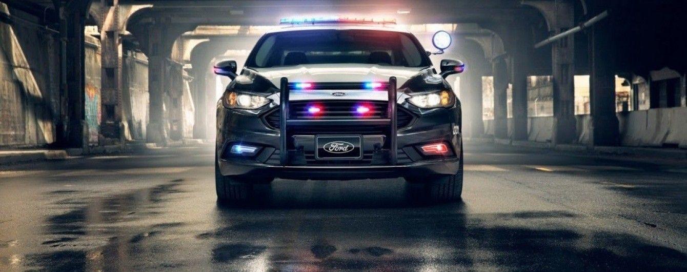 Ford подготовил гибридный седан Fusion Hybrid для полицейских