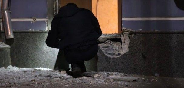 В центре Киева возле Андреевского спуска произошел мощный взрыв