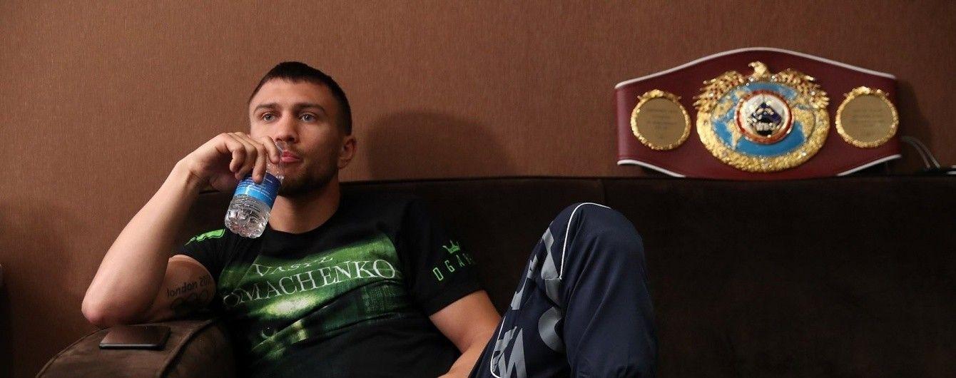 Стали известны имена двух возможных соперников Ломаченко