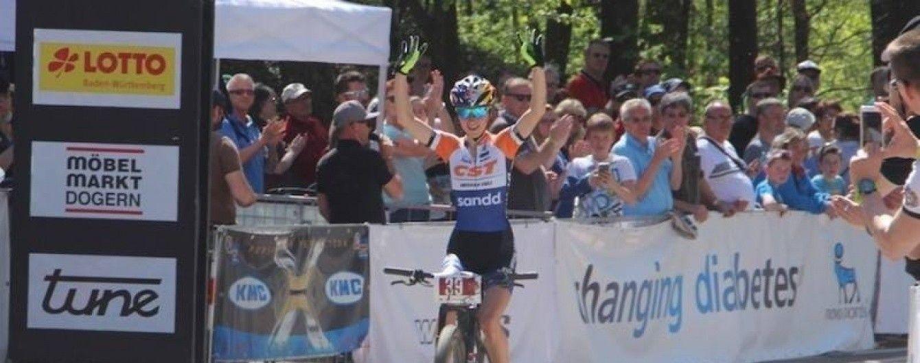 Украинская велогонщица одержала победу на престижной гонке в Германии