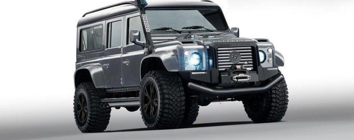Итальянские дизайнеры подготовили уникальный вариант Land Rover Defender