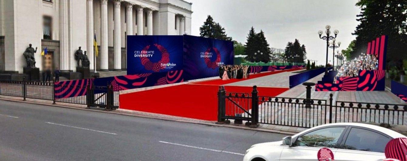 """Кириленко показав, як наразі виглядають сцена та трибуни """"Євробачення-2017"""""""