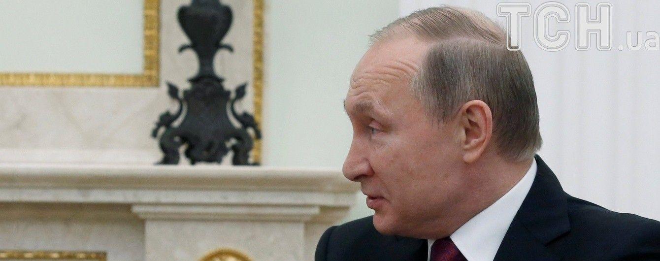 """""""Нудно, дівчатка"""". Путін прокоментував звинувачення щодо хіматаки в Сирії"""