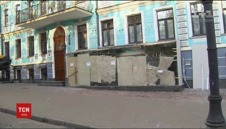 На столичній вулиці Володимирській здетонувала вибухівка