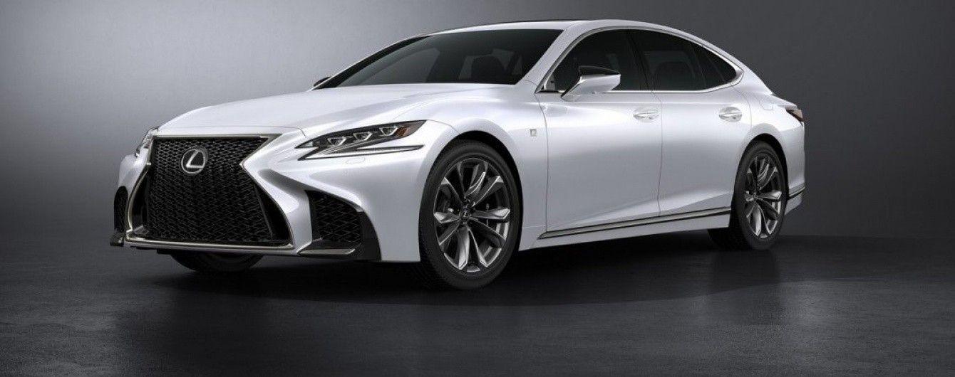Японцы презентовали спортивную версию флагманского седана Lexus LS F Sport