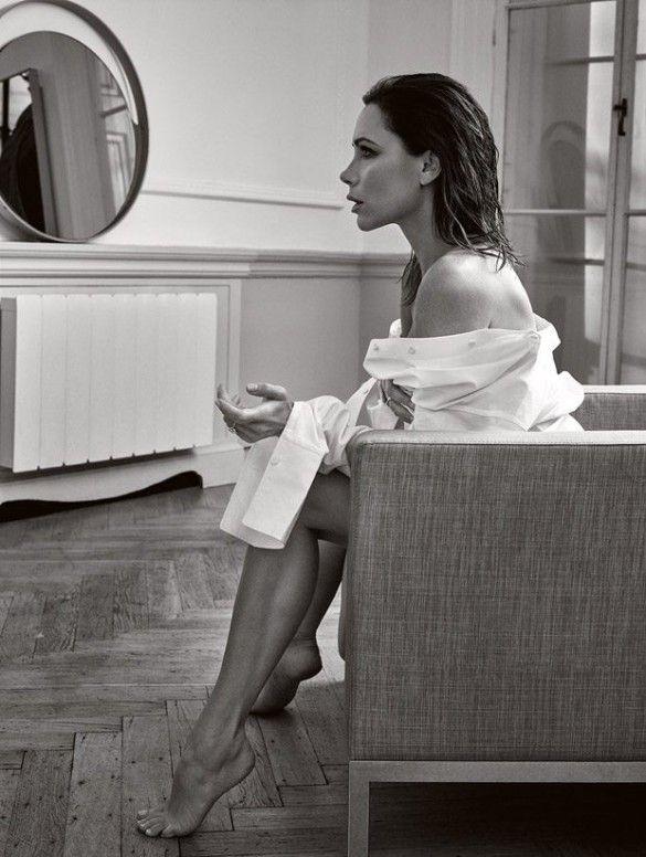 Виктория Бекхэм в фотосете для Elle_3
