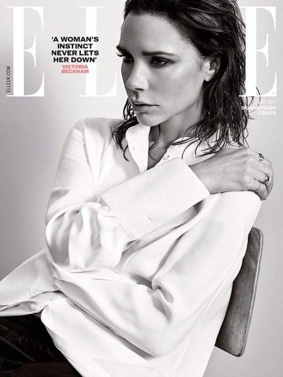 Виктория Бекхэм в фотосете для Elle_4