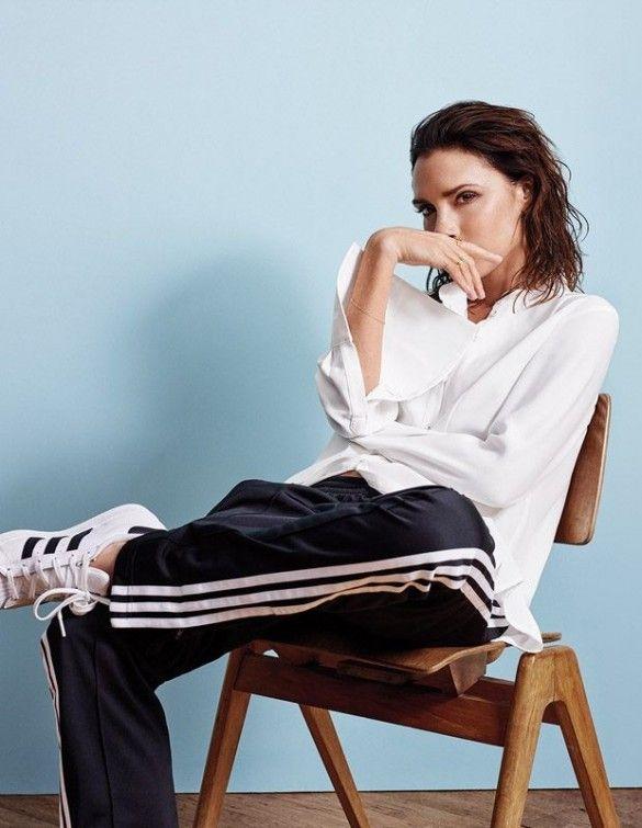 Виктория Бекхэм в фотосете для Elle_2