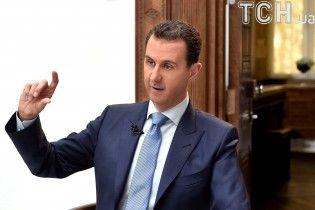 Асад після бомбардувань прибув до порожньої резиденції в Дамаску - прес-служба