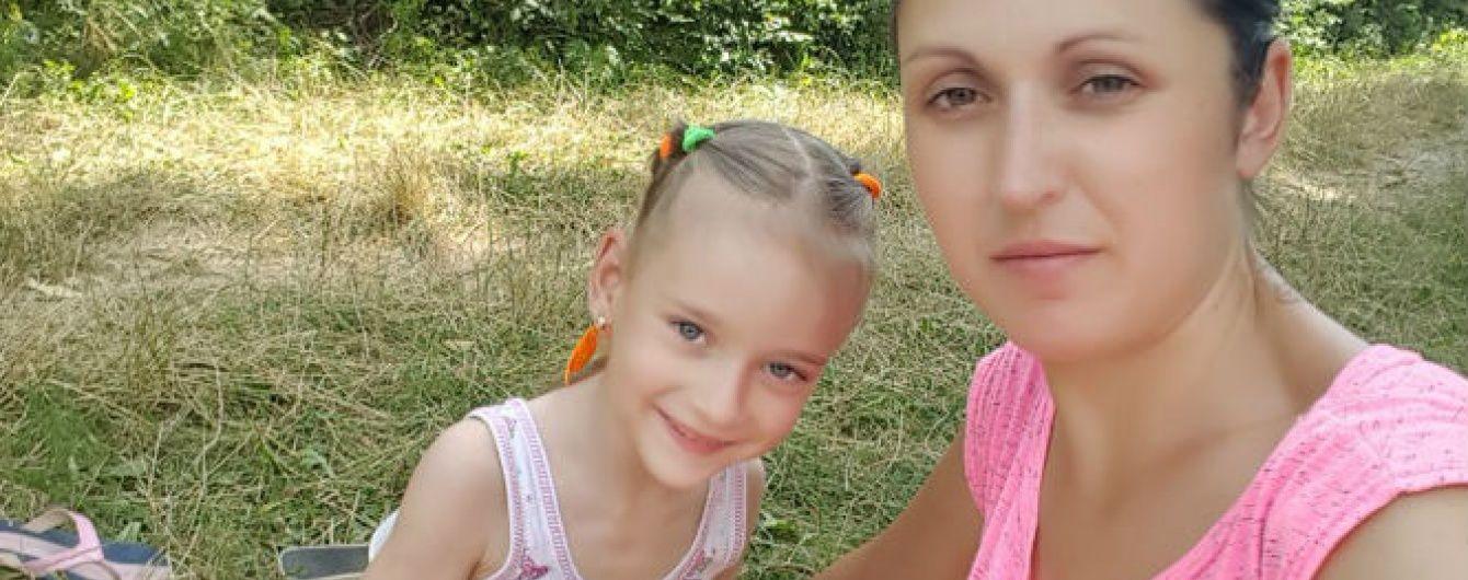 5-річна Сашенька сподівається на допомогу