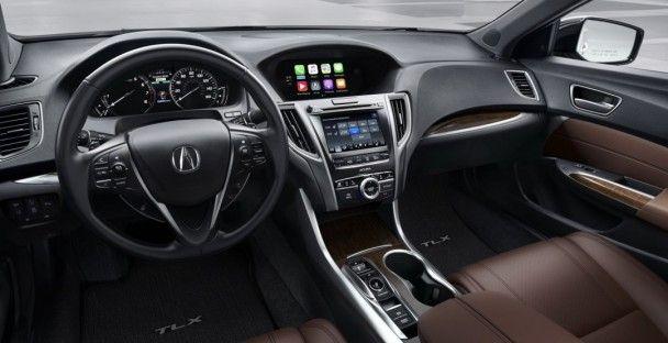 Acura привезла в Нью-Йорк обновленный седан TLX