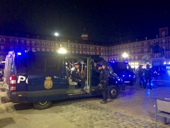 Поліція Мадрида побила фанатів Лестера