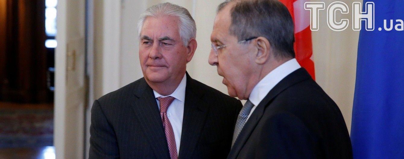 Держдеп США розповів про теми розмови Лаврова і Тіллерсона на зустрічі у Відні