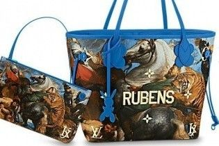 С изображением картин известных художников: новая коллекция сумок от Louis Vuitton
