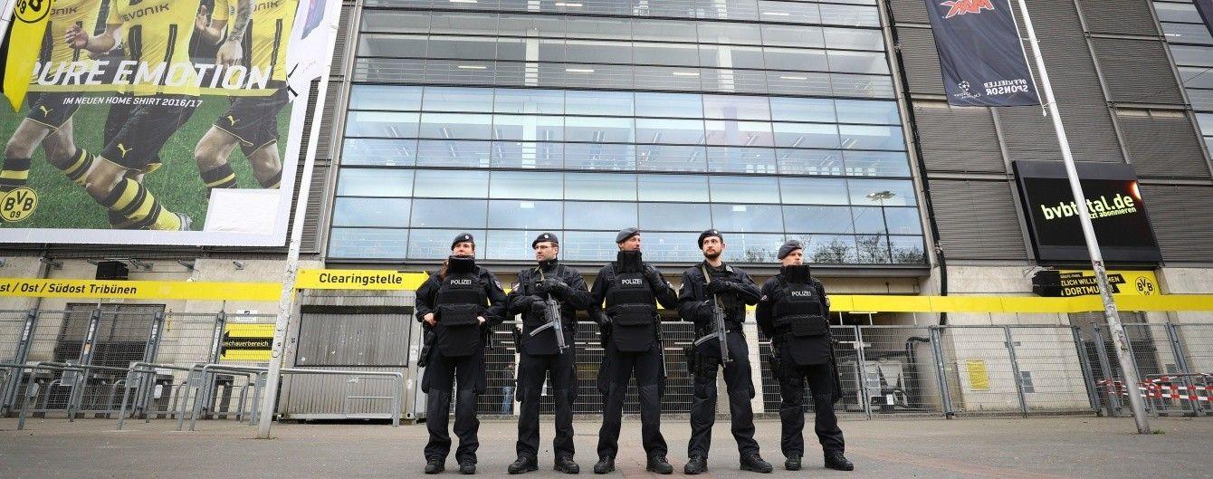 """Полиция задержала подозреваемого в нападении на автобус """"Боруссии"""""""