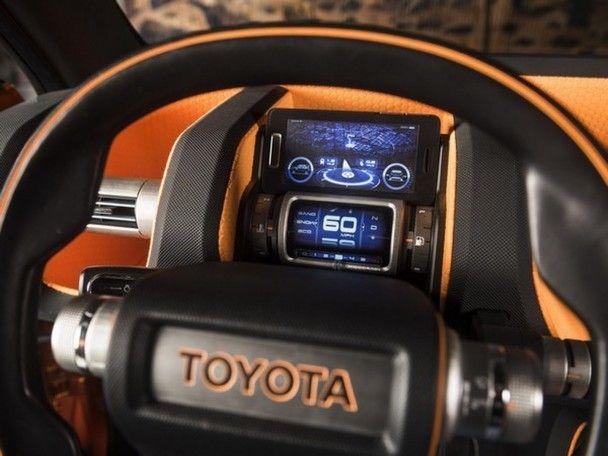 Toyota выкатила новый концепт FT-4X