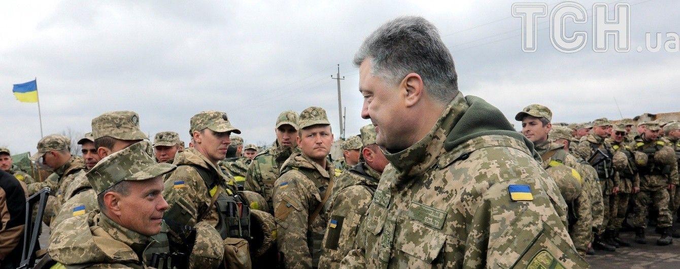 Порошенко наградил более 150 военных за защиту Украины, некоторых – посмертно