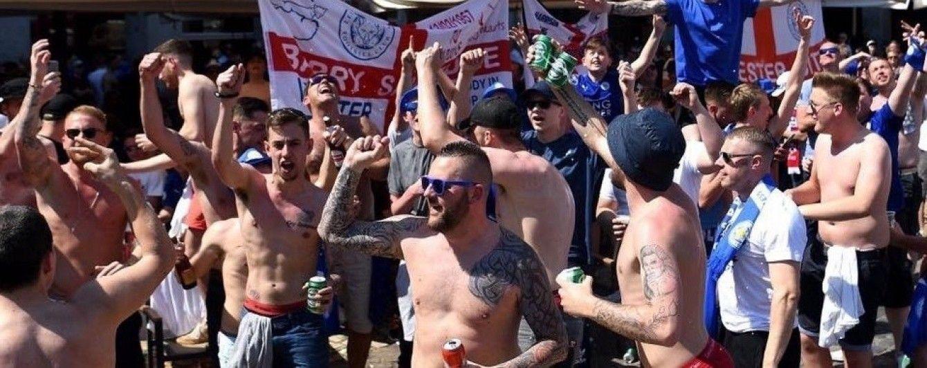 """Фанаты """"Лестера"""" подрались с полицией в центре Мадрида"""