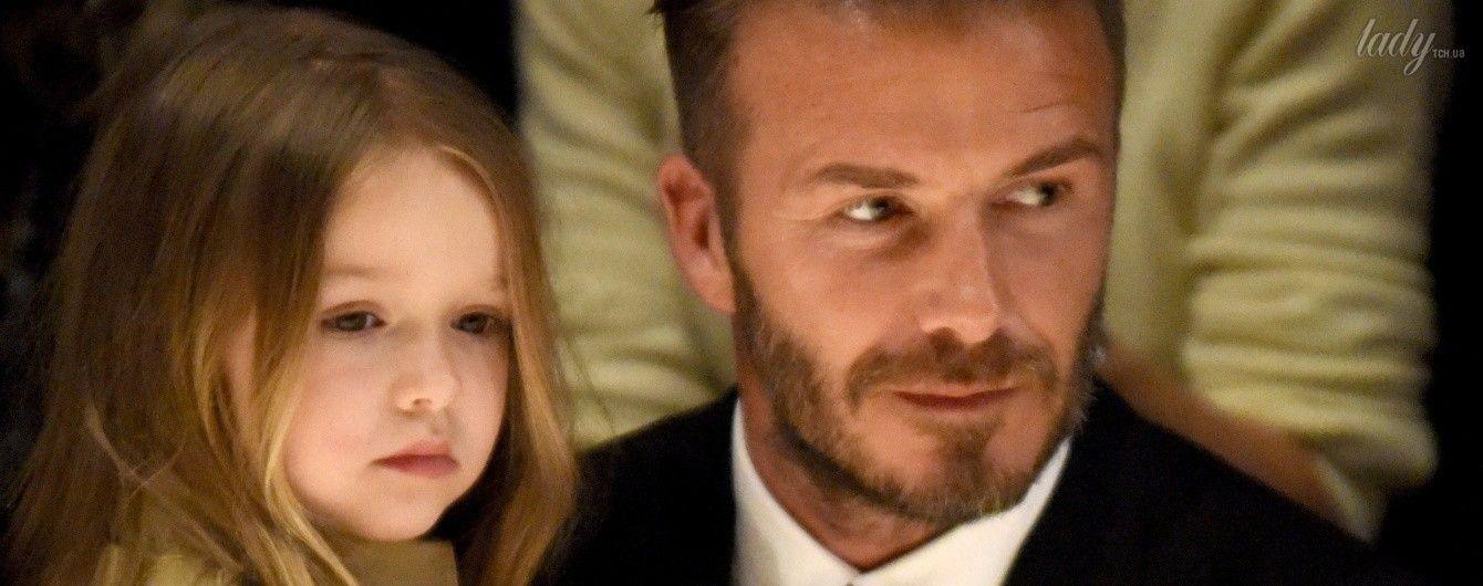 Дальновидная Виктория Бекхэм запатентовала имя пятилетней дочери Харпер