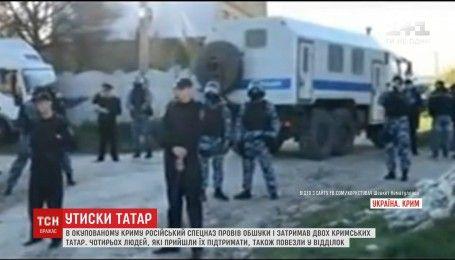 У Криму російський спецназ з кийками та пострілами затримав двох кримських татар