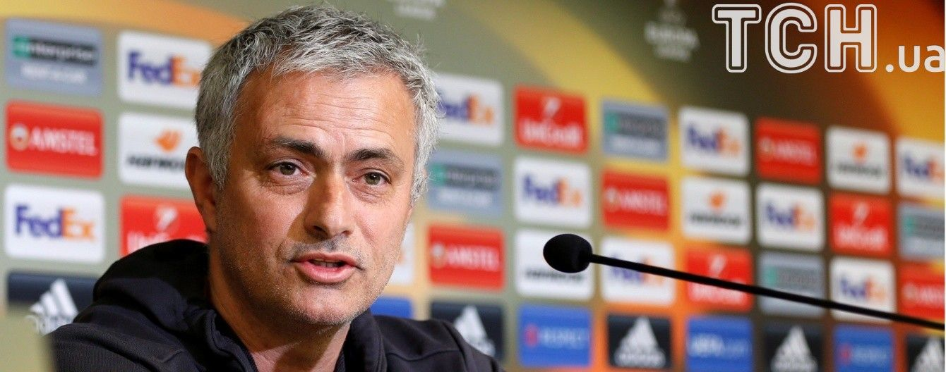 """""""Манчестер Юнайтед"""" отдаст все силы, чтобы выиграть Лигу Европы – Моуринью"""
