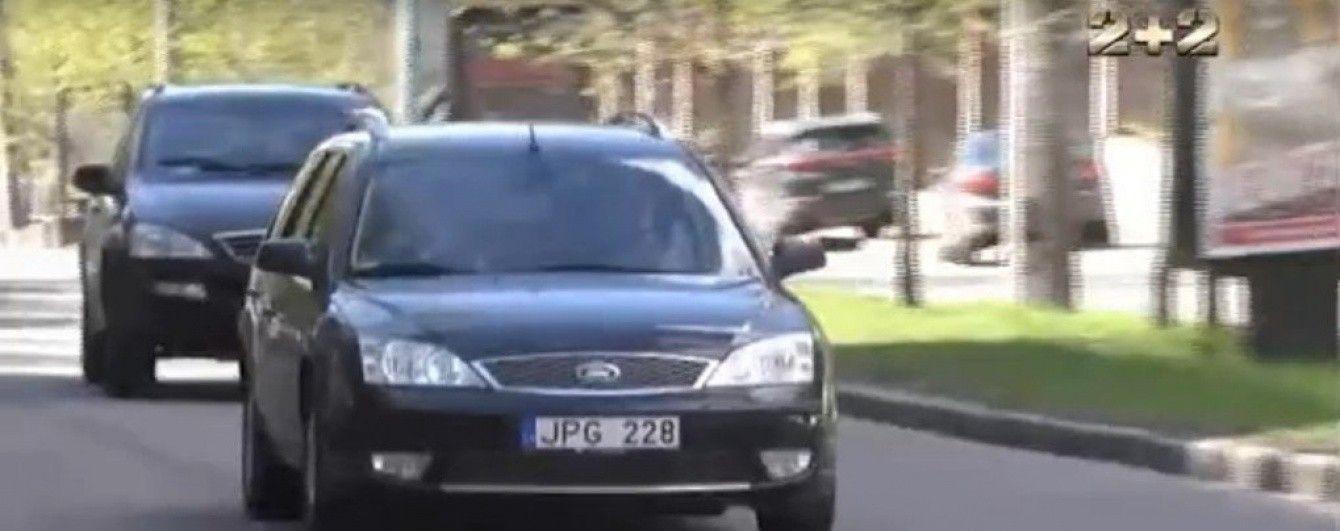 У украинцев начали забирать авто с иностранной регистрацией