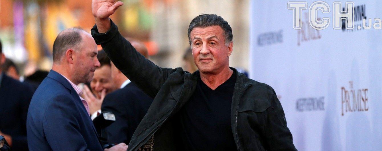 Сталлоне у суді вимагає від відомої кіностудії доплати за участь у фільмі