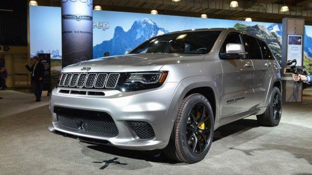 Jeep показал в Нью-Йорке внедорожник Grand Cherokee Trackhawk