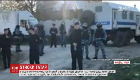 У Криму озброєні ОМОНівці вдерлися до будинків кримських татар