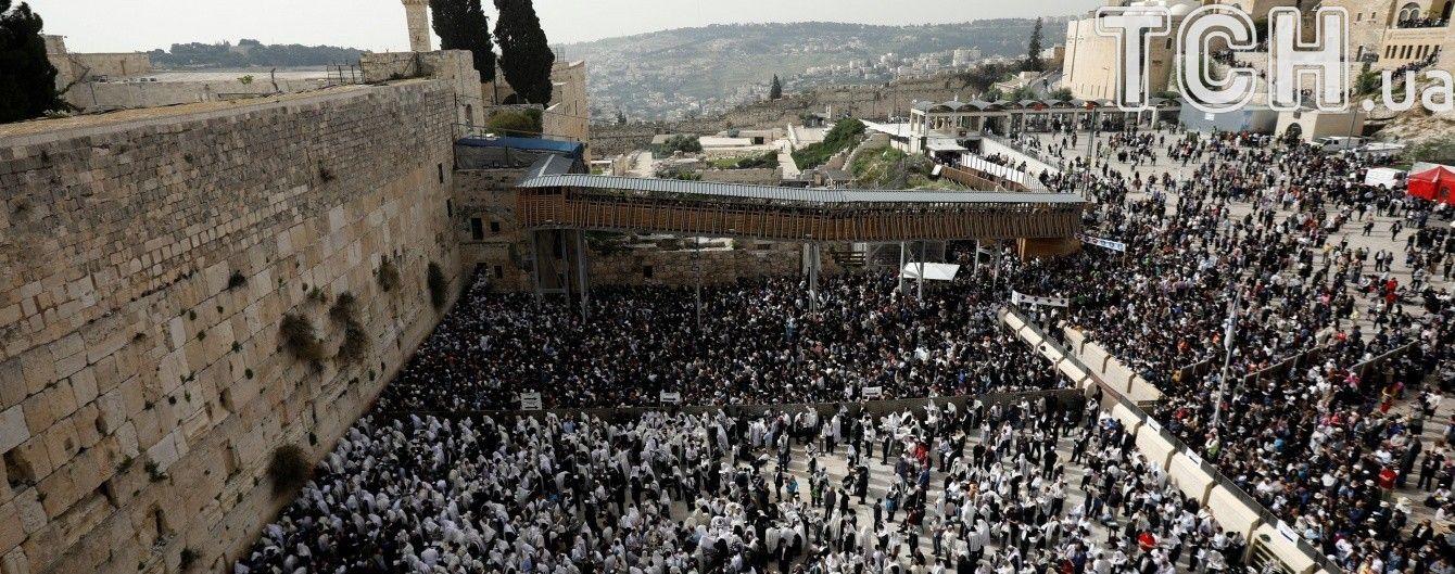 Страсна п'ятниця. До Єрусалима з'їхалися десятки тисяч паломників