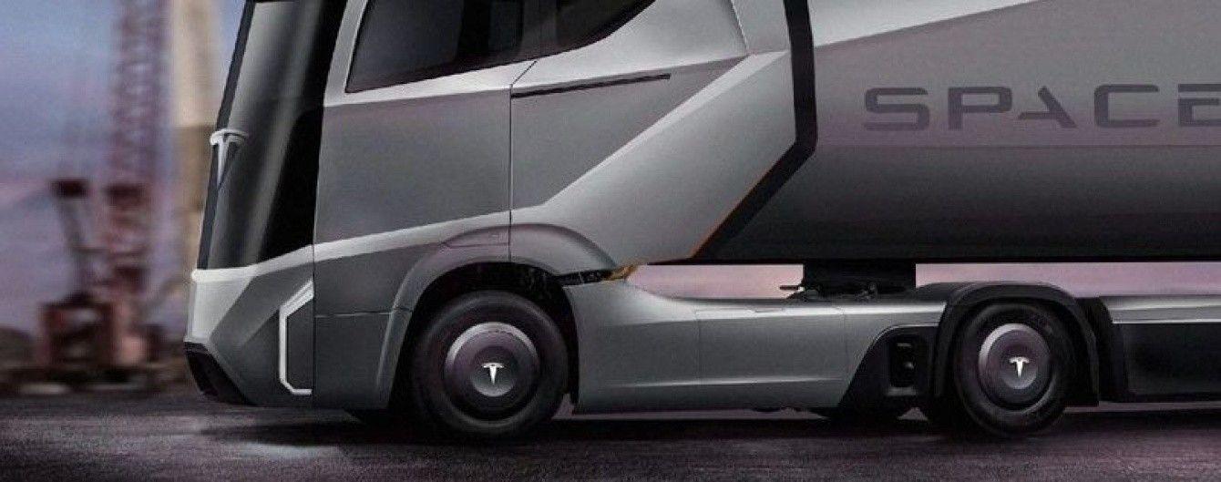 Стало известно, когда Tesla покажет электрический грузовик