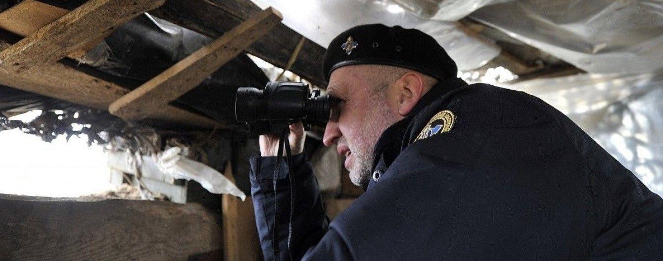 Турчинов поставив завдання військовим – метр за метром просуватися на схід