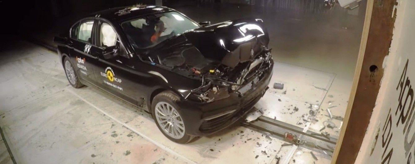 BMW 5-Series получила самую высокую оценку в краш-тестах Euro NCAP
