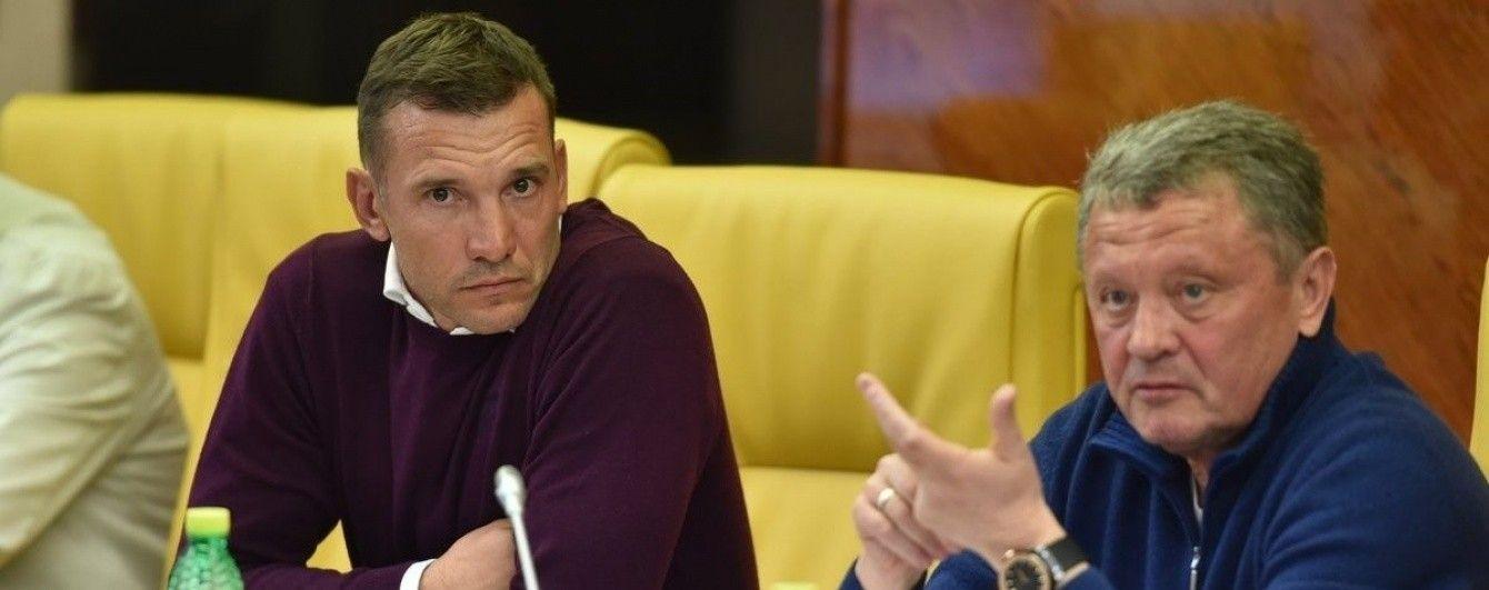 Шевченко признался в срыве трех контрольных матчей сборной Украины