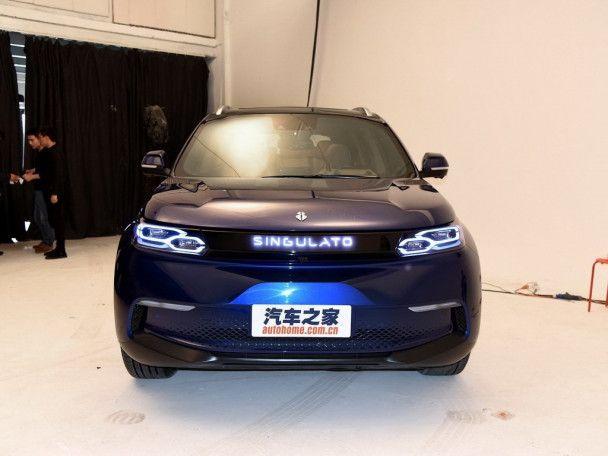 В Китае появился новый электрокроссовер Singulato iS6