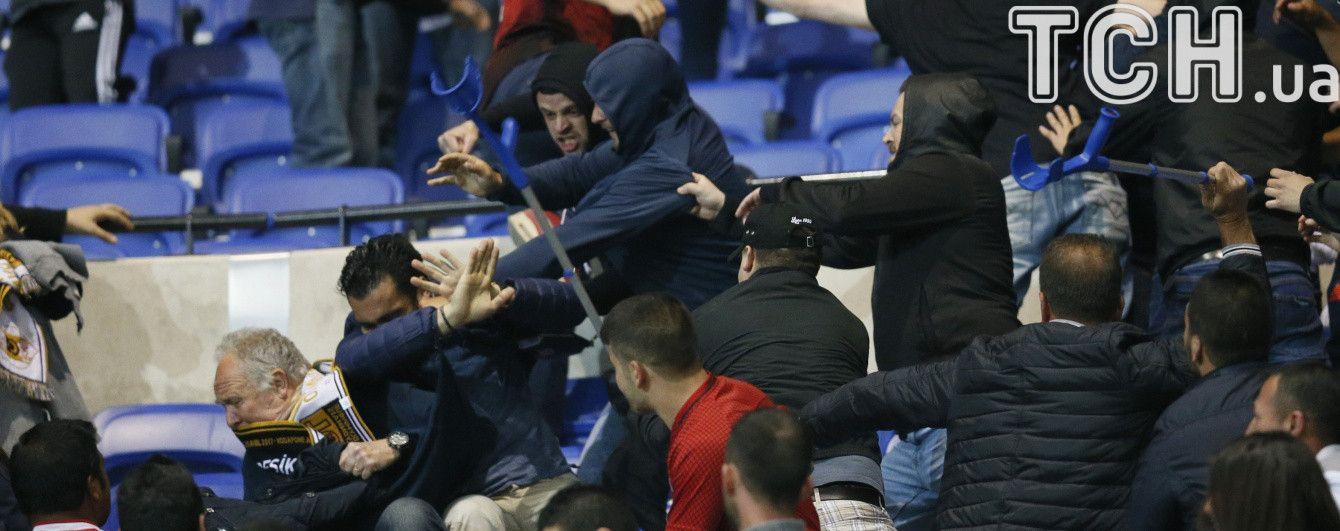 """Свідок подій розповів, хто розпочав бійку на стадіоні перед матчем """"Ліон"""" - """"Бешикташ"""""""