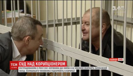 В Печерском райсуде столицы выбирают меру пресечения экс-руководителю ГАИ Киева