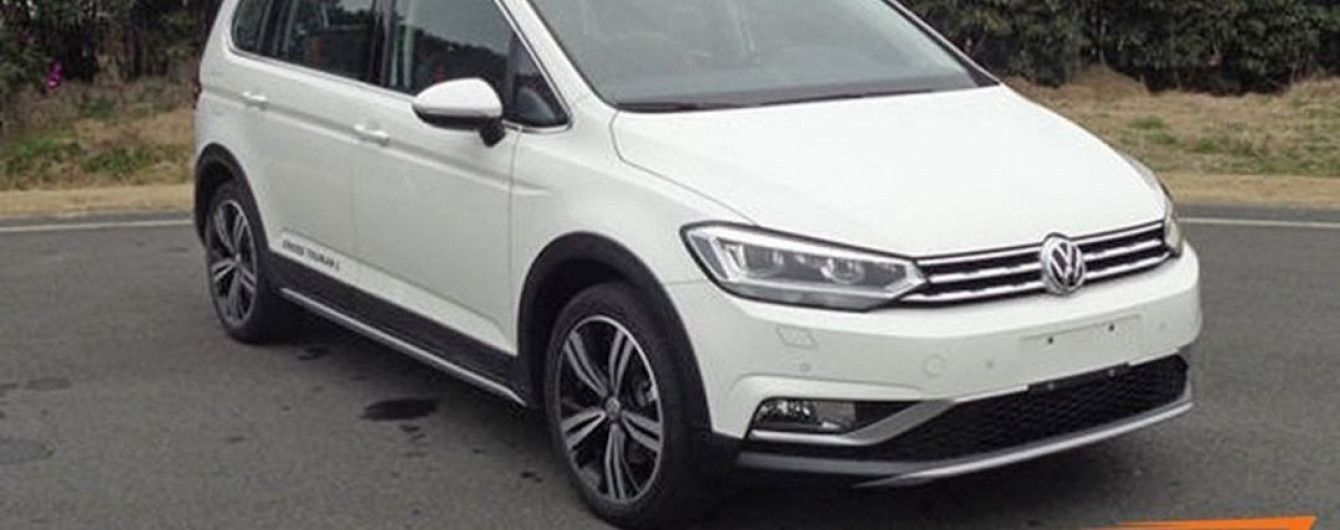 Минивэн Volkswagen Touran получил кросс-версию