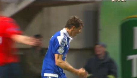 Заря - Динамо - 0:1. Видео гола Гармаша