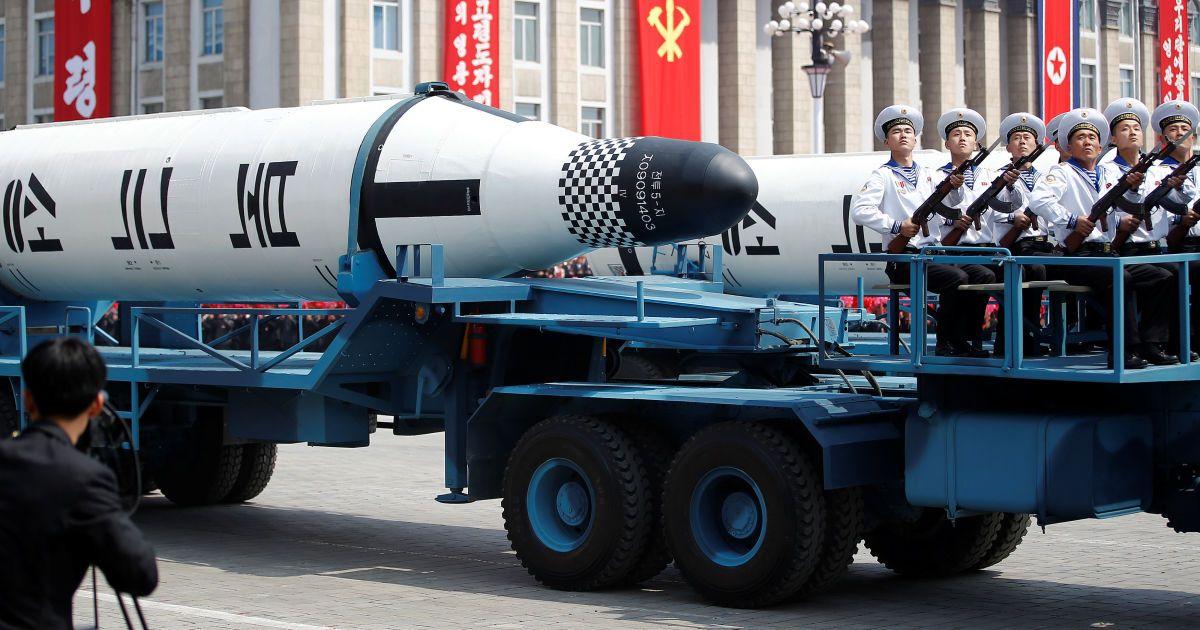 Баллистическая ракета Пуккуксонг, предназначенная для запуска с субмарин