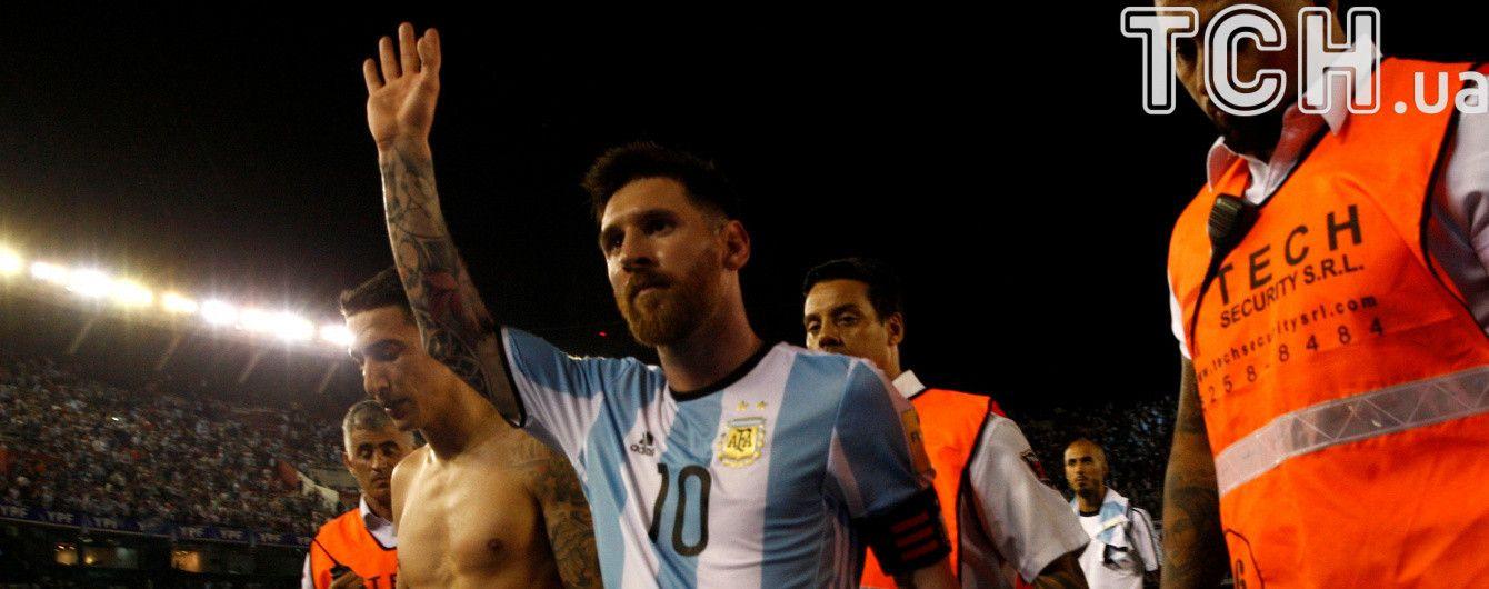 Дискваліфікація Мессі в збірній Аргентини може бути скорочена