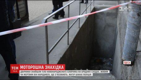 В Одесі двірники знайшли мертве немовля на купі сміття