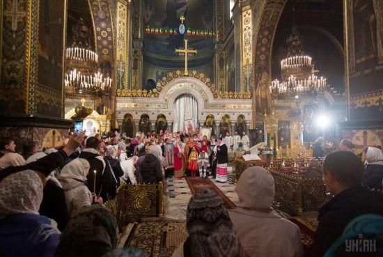 У Київ на свято афонської ікони приїхали тисячі людей