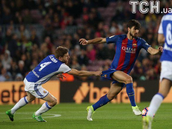 Барселона - Реал Сосьєдад - 3:2