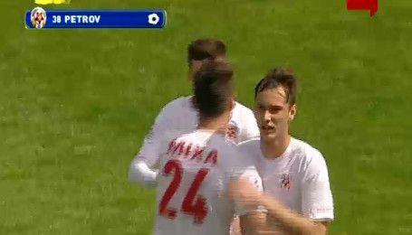 Волинь - Зірка - 1:0. Відео голу Петрова